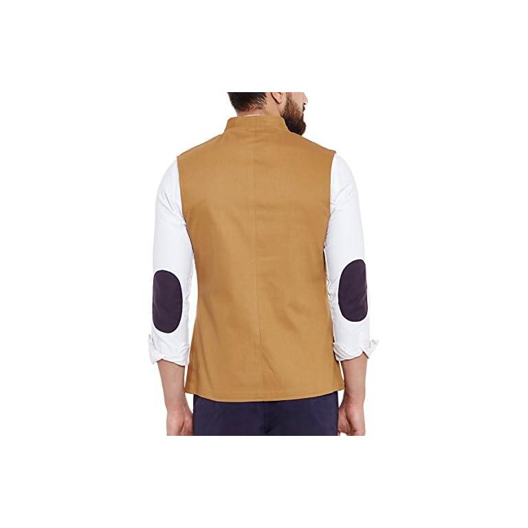41VekCHd9IL. SS768  - HYPERNATION Men's Nehru Jacket Waistcoat
