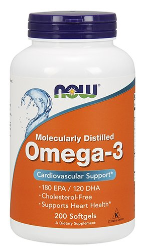 Now Omega 3 1000Mg  200 Softgels
