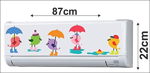 DreamKraft Decorative AC Air Conditioner Sticker (87 cm x 22 cm) 41VeliIrthL India 2021
