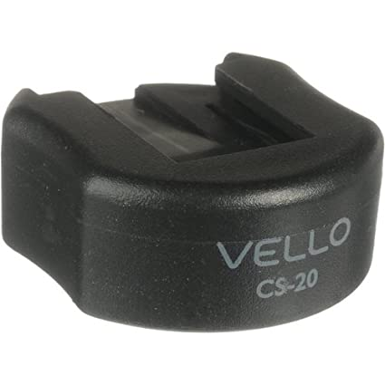 Vello CS-20 Cold Shoe Mount with 1/4 inches..
