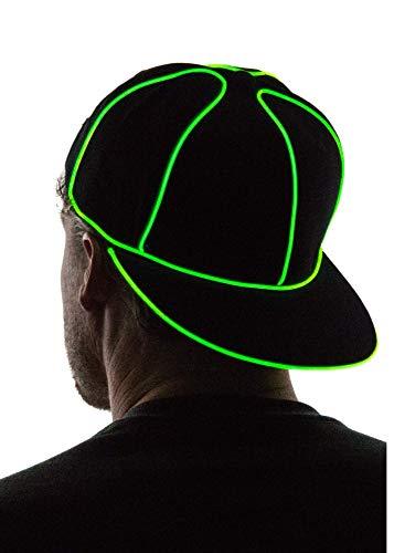 Neon Nightlife Light Up Snapback Hat,