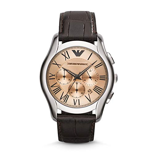 - Emporio Armani Men's AR1785 Dress Brown Leather Watch