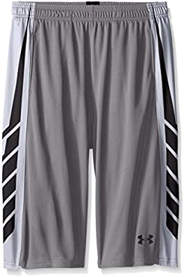 42d2fd1c49 Under Armour Boys Select Basketball Shorts Youth Small gray: Amazon ...