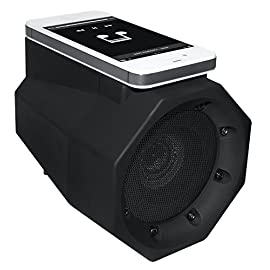 BoomTouch Wireless Portable Speaker- No Dock, No Wires, No Bluetooth Required, Amplifies Your Device's Sound, As Seen On TV (Black) 138 EASY TO USE! Portable, Lightweight, Cellphone Sound Amplifying Speaker. Just lay your device down to have amazing crystal-clear booming sound instantly without any wires or Bluetooth! Now you can bring a portable boom box anywhere! EASY TO CONNECT! No Docks. No Wires. No Bluetooth! All you need is a device with an external speaker. Boom Touch works great with iPhone, Android, iPad, iPod, Mac, Smartphones, Tablets, Laptops, Computers, Chromebooks, Kindle HIGH QUALITY! Clear, Crisp, High-Quality Sound that will be sure to amaze you & everyone else! Great for use outdoors, indoors, at the pool, beach, by the shower, for parties, in hotels or anywhere you listen to music. This portable speaker is easy to use everywhere!