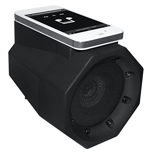 BoomTouch Wireless Touch Portable Speaker Boom Box (Black) by Allstar Innovations