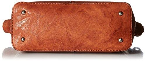 FRYE Cognac Satchel Veronica Handbag Leather zUxgawrzq