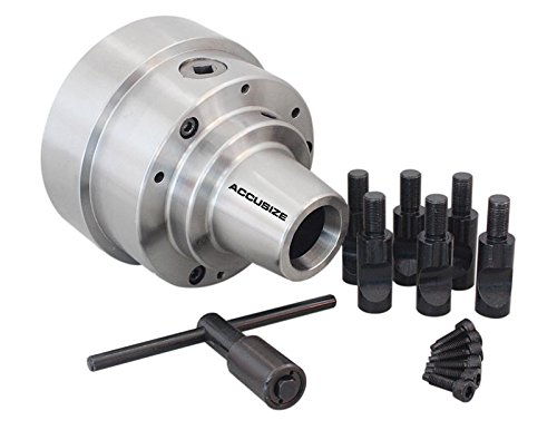 5 Collets - Accusize Industrial Tools 5c, 5-1/2'' Collet Chuck with Integral D1-5 Camlock Mounting, 3/4'' Stud, 0269-0015