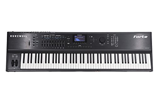 Kurzweil Forte 88 Key Stage Piano with New Piano Sample and FlashPlay
