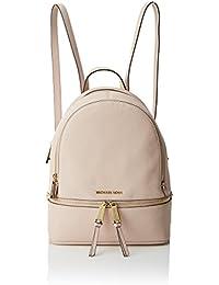 MICHAEL Michael Kors Women's Rhea Zip Medium Backpack, Soft Pink, One Size