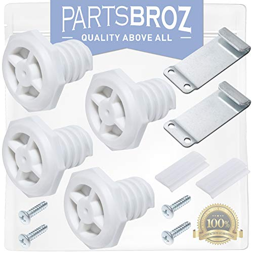 W10869845 Stack Kit for Whirlpool Washers & Dryers by PartsBroz - Replaces Part Numbers AP6047938, W10298318RP, W10761316 & 52774