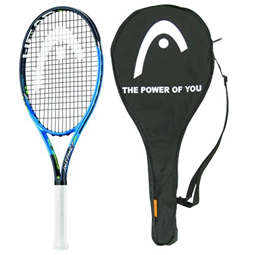 - HEAD 2018 Graphene Touch Instinct 26 Junior Tennis Racquet - Strung with Cover - Scaled down top adult quality - 4