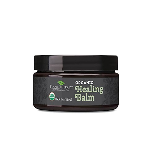 Plant Therapy Organic Healing Balm Organic 4 oz 100% Pure USDA Organic