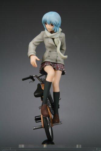 Evangelion: Rei Ayanami BMX Trick 1/12 Scale Figure