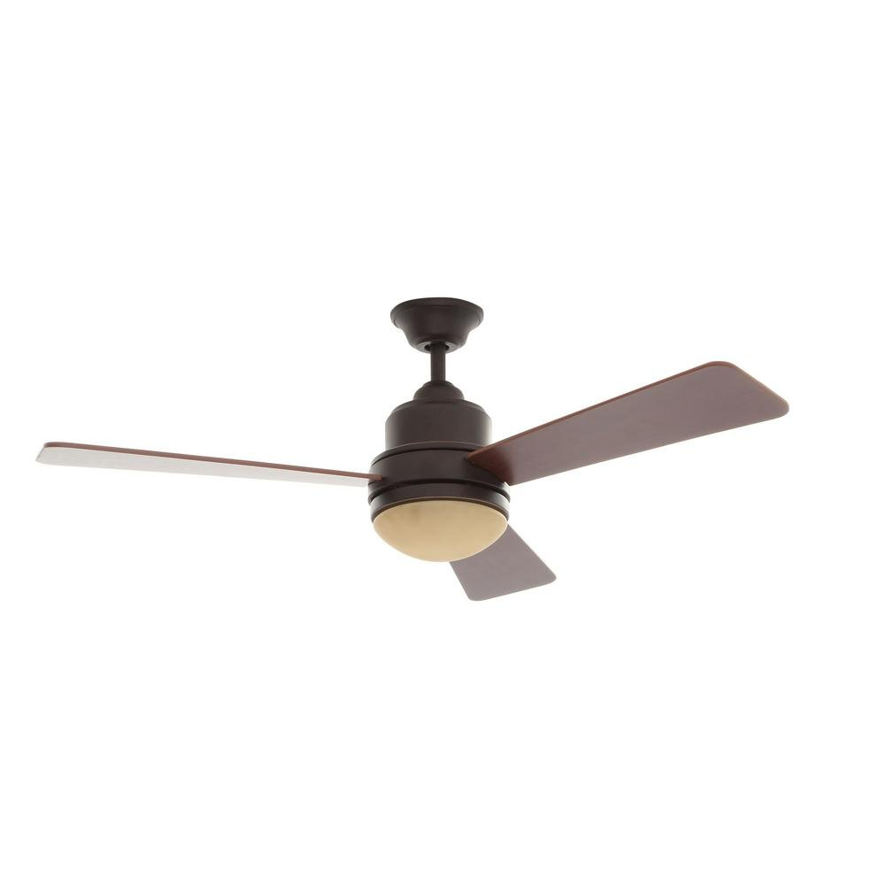 Indoor Oil-Rubbed Bronze Ceiling Fan Replacement Parts Brookhurst 52 in