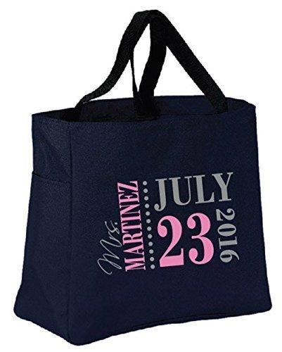 amazon com save the date bride tote bag wedding planner wedding