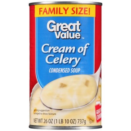 Condensed Pack Value (Great Value Cream of Celery Condensed Soup, 26 oz - Pack of 2)