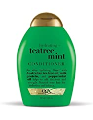 OGX Hydrating TeaTree Mint Conditioner, 13 Ounce Bottle...