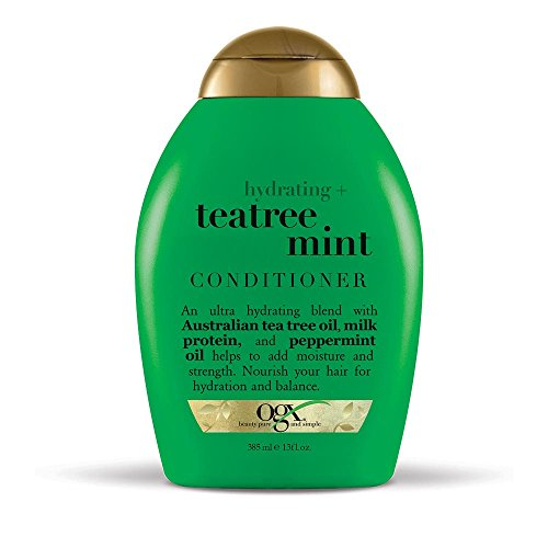 (OGX Hydrating + Tea Tree Mint Conditioner, 13 Ounce)