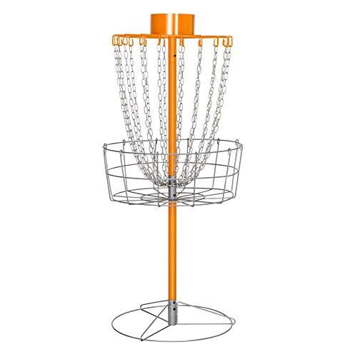 Yaheetech 18 Chain Portable Disc Golf Basket Target- Golf Goals Baskets Practice - Target Golf Disc