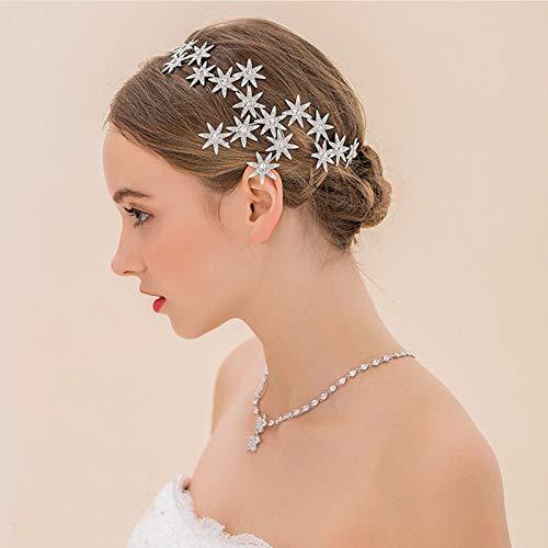 European Bride Bridesmaid Wedding Headdress Actress Crown Tiara Diadem Crystal Crown Hair Accessories Bridal Ml604 Leading With Bridesmaids