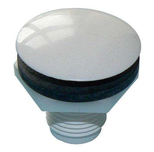Primaflow 90010323 Wor robinet trou Bouchon (lot de 1), blanc PRIMAFLOW LTD