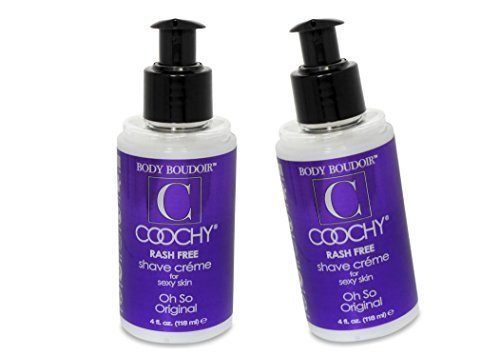 (Coochy Water Based After Shave Skin Protection OH SO ORIGINAL (Safe for All Body Parts Including Face and Intimate Areas) - Size 4 Oz (Pack of)