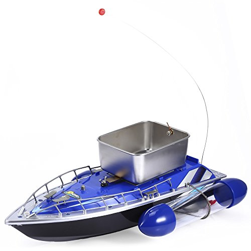 SmartLife Mini RC Wireless Fishing Lure Bait Boat 200M Remote Control for Finding Fish