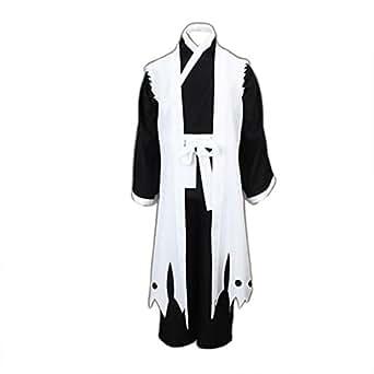Bleach Cosplay Costumes Zaraki Kenpachi 11th Division Captain 3rd Ver XXX-Large