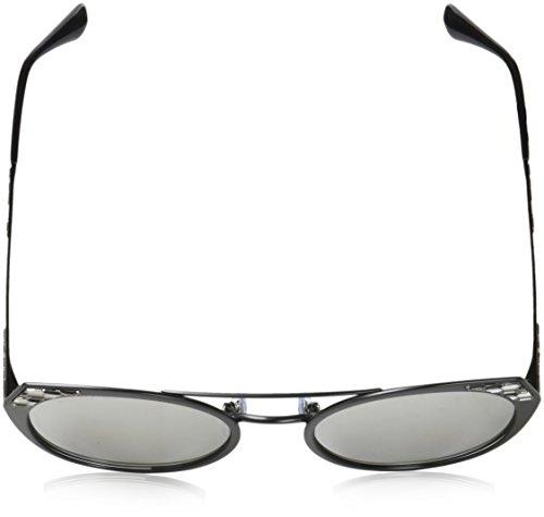 Black Negro BV6095 Sonnenbrille Demi Bvlgari Grey Sqwn76nT