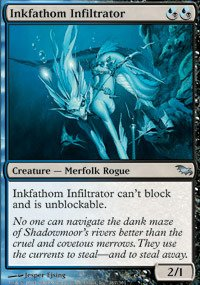 Dxm Series (Magic: the Gathering - Inkfathom Infiltrator - Shadowmoor)