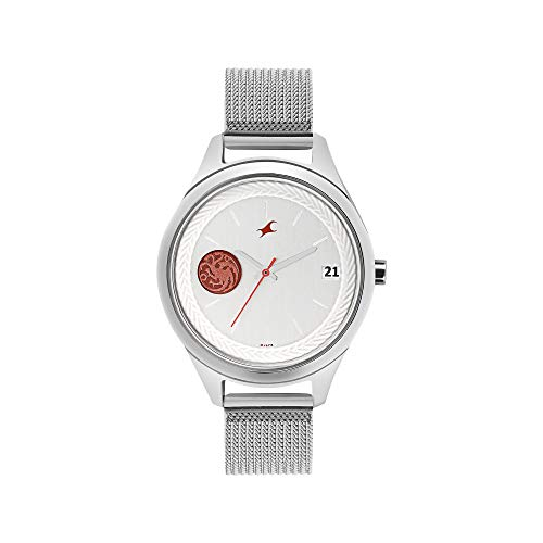 Fastrack Game of Thrones Analog White Dial Women's Watch-6197SM01 / 6197SM01