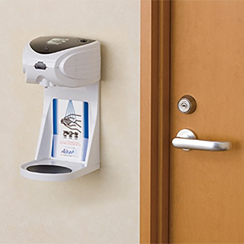 キングジム 自動手指消毒器 アルサット  AL10 ホワイト