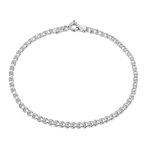 Amberta Sterling Silver Heart Bracelet