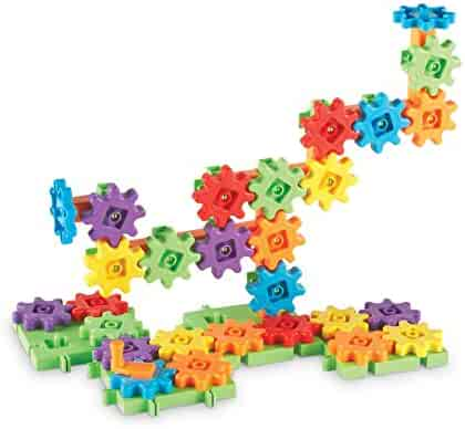 Learning Resources Gears! Gears! Gears! Starter Building Set, 60 Pieces