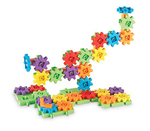 Learning Resources Gears! Starter Building Set, 60Piece