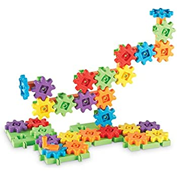 Learning Resources Gears Starter Building Set (60 Piece)