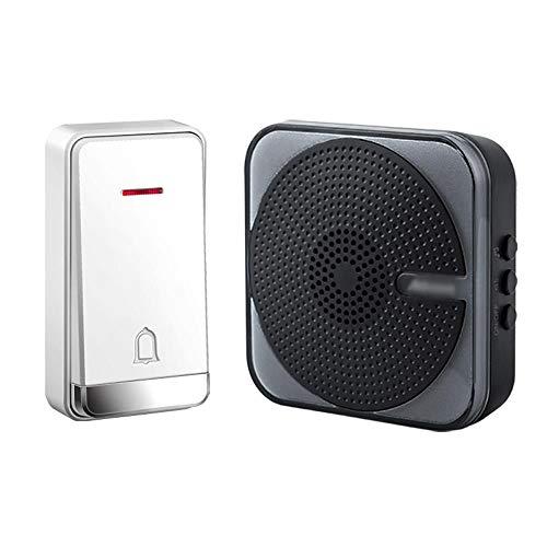 [해외]Self-Powered Wireless Doorbell Battery-Free Doorbell the Open Space Can Reach 230 Meters.32 Melody 4 Volume Levels IP47 Waterproof Transmitter / Self-Powered Wireless Doorbell, Battery-Free Doorbell, the Open Space Can Reach 230 Me...