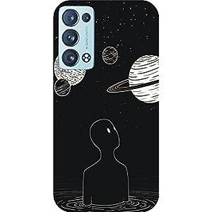 Joe Designer Printed Back Case Cover for Oppo Reno 6 Mobile (Multicolor) art179
