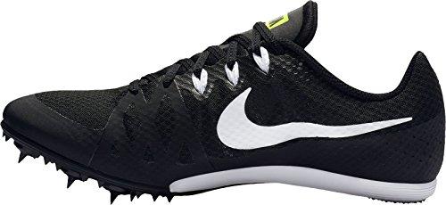 Nike Mens Zooma Rivaliserande Md 8 Friidrott Skor Oss Svart / Vit-volt