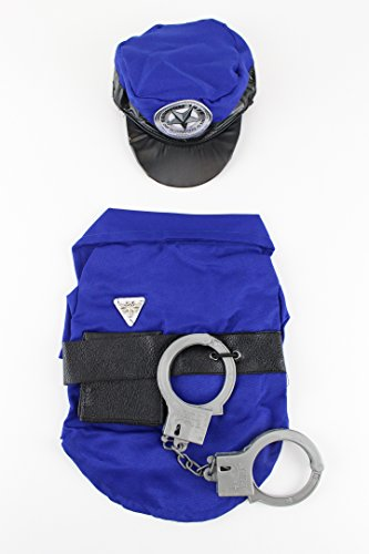Police Man Dog Costume by Midlee (Cop Costumes For Dogs)