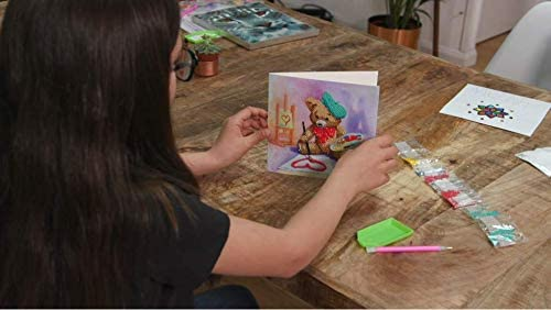 CRYSTAL ART- Kit Carte /à diamanter 18x18cm A169-Birthday Friends CCKA19
