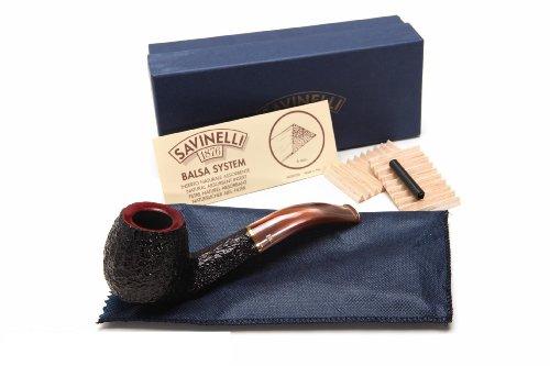 Savinelli Roma Lucite KS Briar Pipe 677 Tobacco Pipe ()
