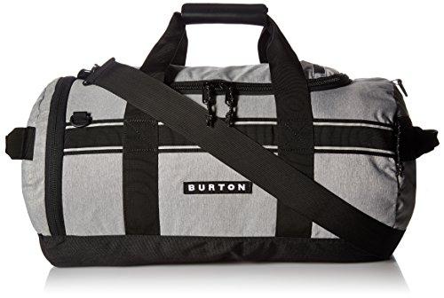 Burton Backhill Small 40 L Duffel Bag, Grey Heather, One Size ()