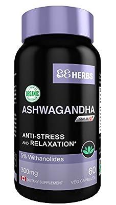 Premium Grade KSM-66 Ashwagandha – Organic | Non-GMO – Full Spectrum Standardized