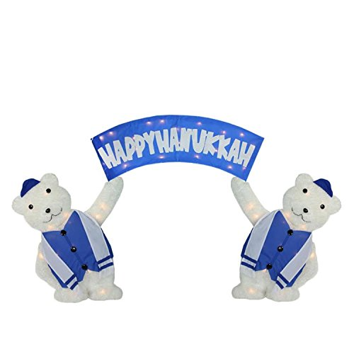 Outdoor Lighted Polar Bear Decorations in US - 9