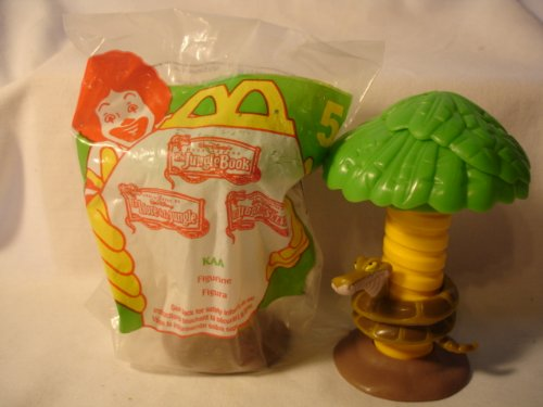 MCDONALDS HAPPY MEAL 1997 TARZAN KAA THE SNAKE FIGURE for sale  Delivered anywhere in USA