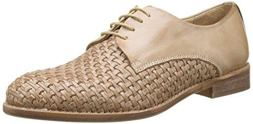 Zapatos Beige para Tufou Beige Derby Kickers de 11 Cordones Mujer qHvffFn5