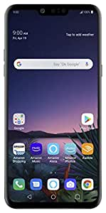 LG G8 with with Alexa Hands-Free - Unlocked - 128 GB - Aurora Black (US Warranty) - Verizon, AT&T, T-Mobile, Sprint, Boost, Cricket, & Metro