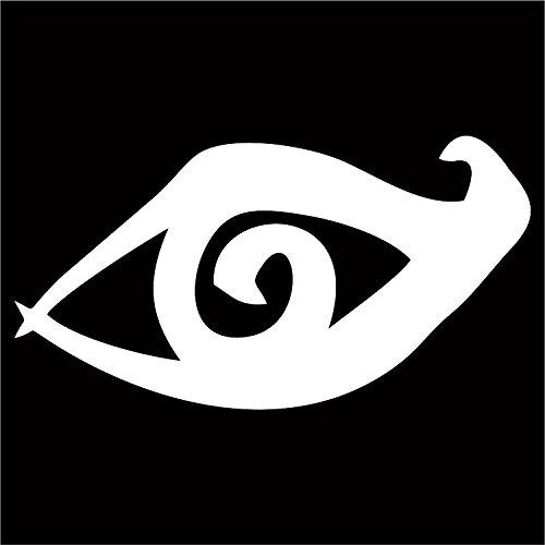 Clairvoyant Sight Rune Decal / Sticker - White