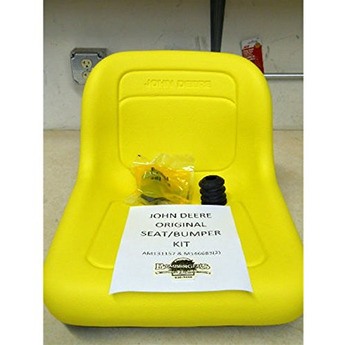 John deere Seat kit and bumpers AM131157 M146683 model listed in - Parts John Deere Gx335